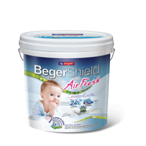 Sơn Nội Thất Lọc Không Khí và Diệt Khuẩn BegerShield AirFresh-14