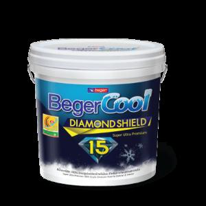 Sơn Ngoại Thất Giảm Nhiệt BegerCool Diamond Shield 15